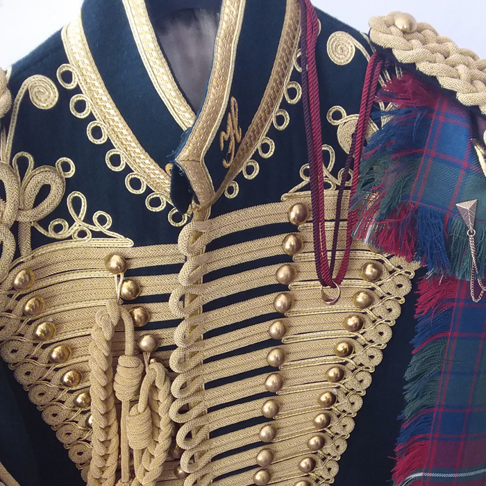 Jacobite Tours. The Alba Hussar's Uniform. Come join our campaign